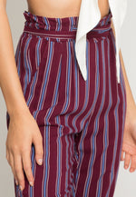 Magic Vertical Stripe Rayon Pants
