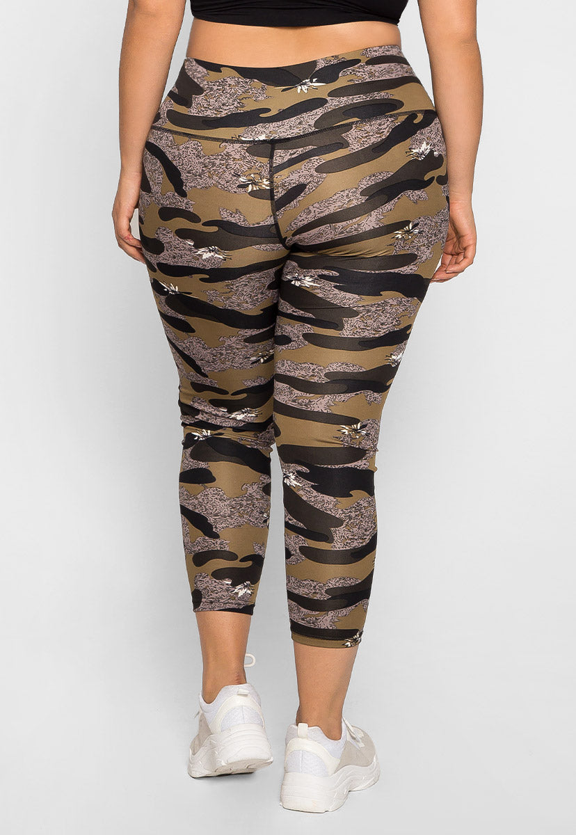 Plus Size Daybreak Active Leggings - Plus Bottoms - Wetseal