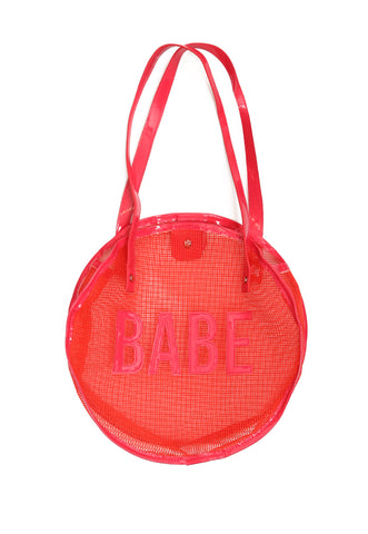 Babe Mesh Mini Tote Bag