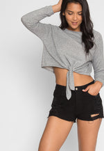 What You Are Sweatshirt in Gray