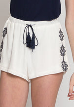 Festival Child Embroidered Shorts