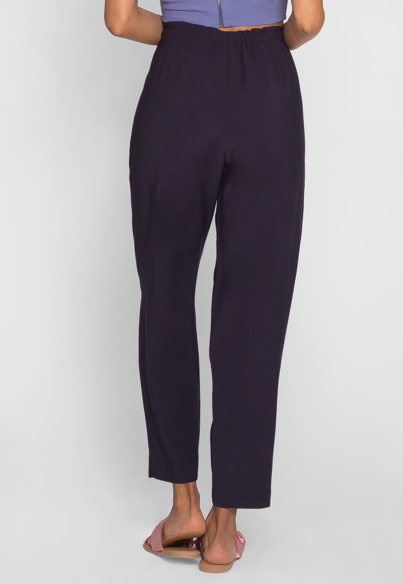 Amusement Park Pleated Pants in Navy - Pants - Wetseal
