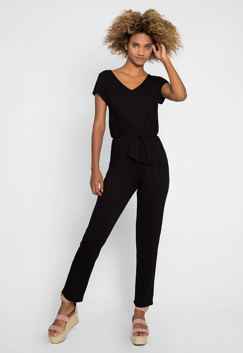Lounge Fitted Jumpsuit - Rompers & Jumpsuits - Wetseal