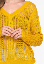 Beverly Open Knit Sweater