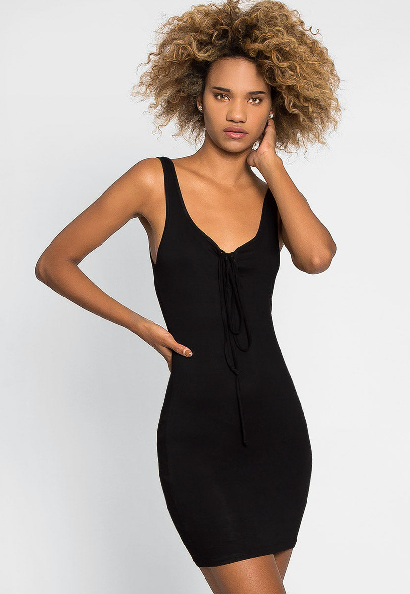 Back to Basics Tank Dress - Dresses - Wetseal