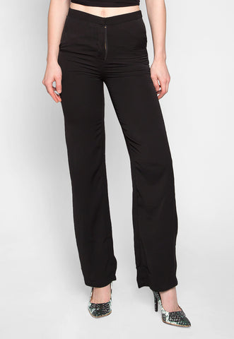 Bossy Business Wide Leg Pants