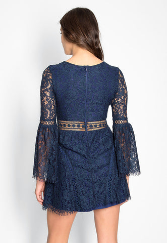 Last Dance Lace Mini Dress
