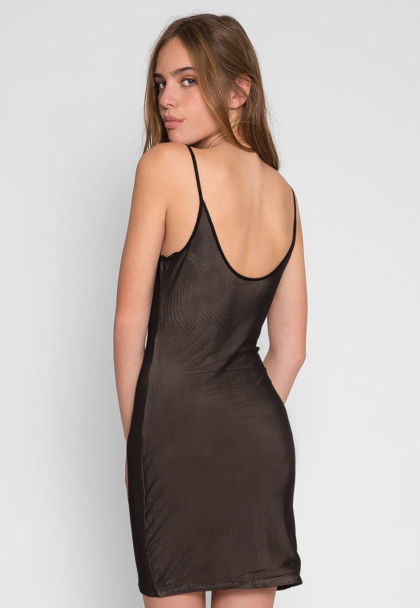 No Blame Fishnet Dress - Dresses - Wetseal