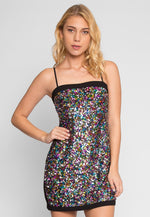 Dancehall Sequin Dress