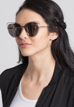 Quartz Cat Eye Sunglasses