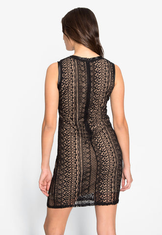 New Moon Lace Mini Dress