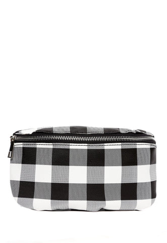 Pebble Fanny Pack in Gingham
