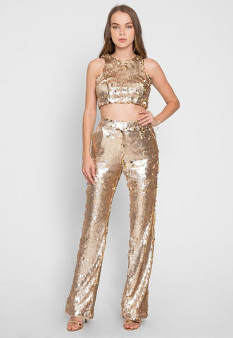 Vegas Two Piece Sequined Set