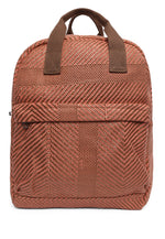 Woven Textured Backpack