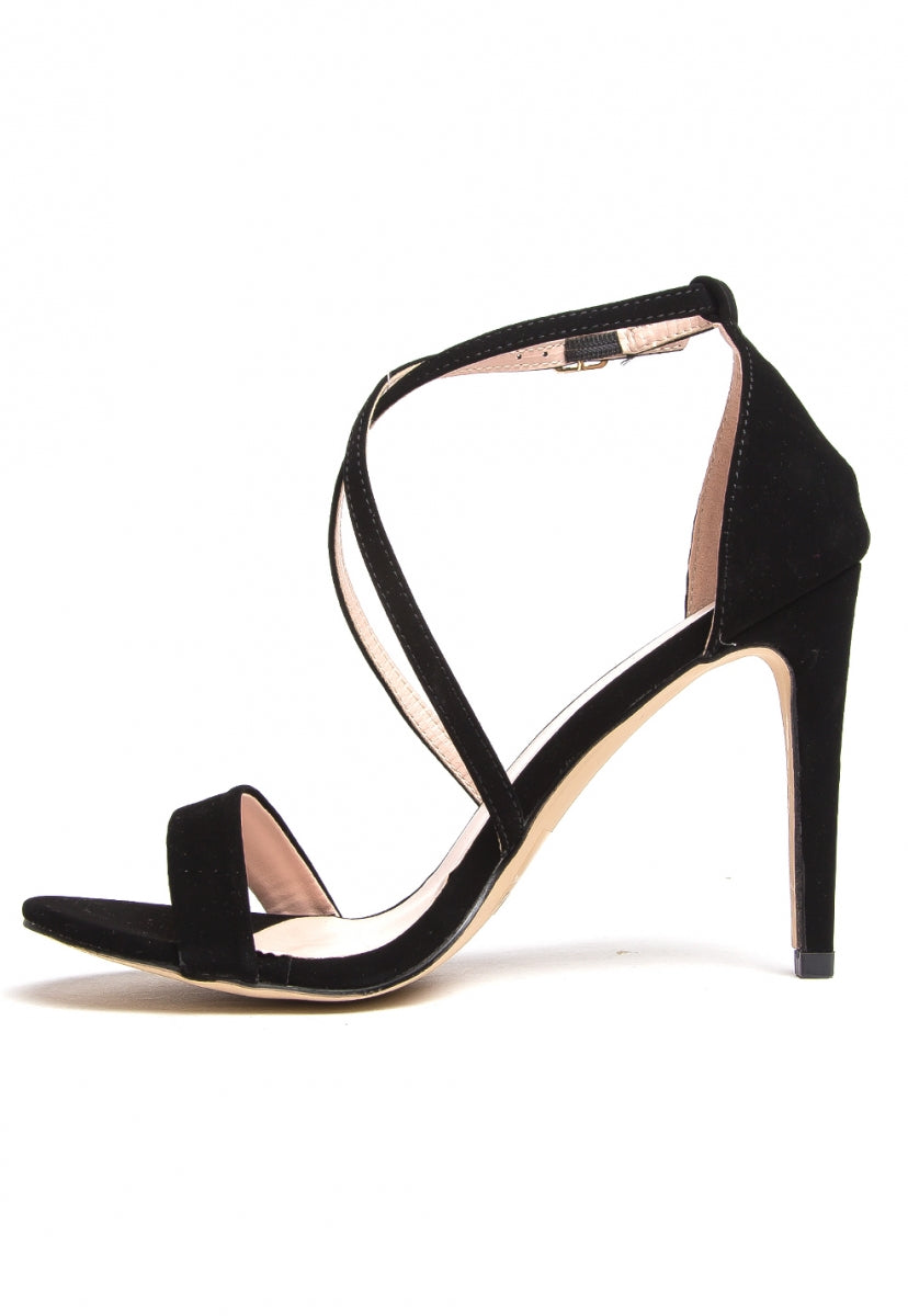 Carole Strappy Heels - Shoes - Wetseal
