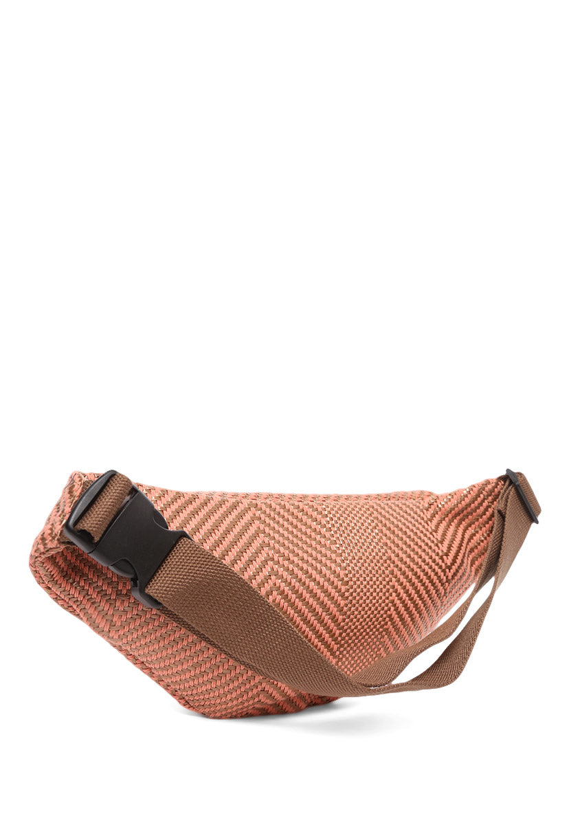Woven Large Fanny Pack - Bags - Wetseal