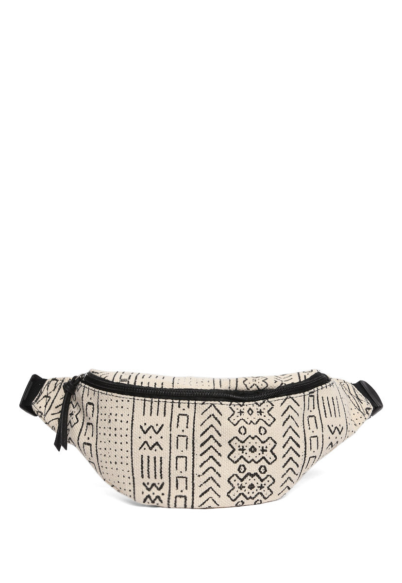 Printed Large Fanny Pack - Bags - Wetseal