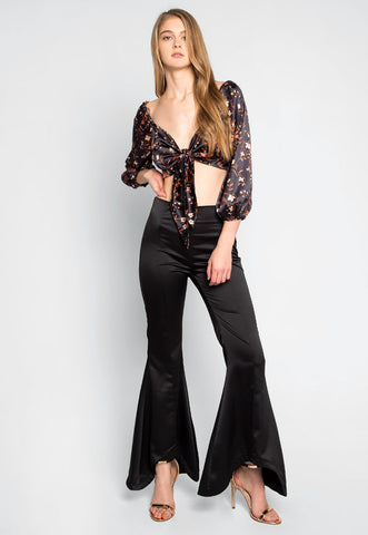 Opposites Attract Contrast Pants Set