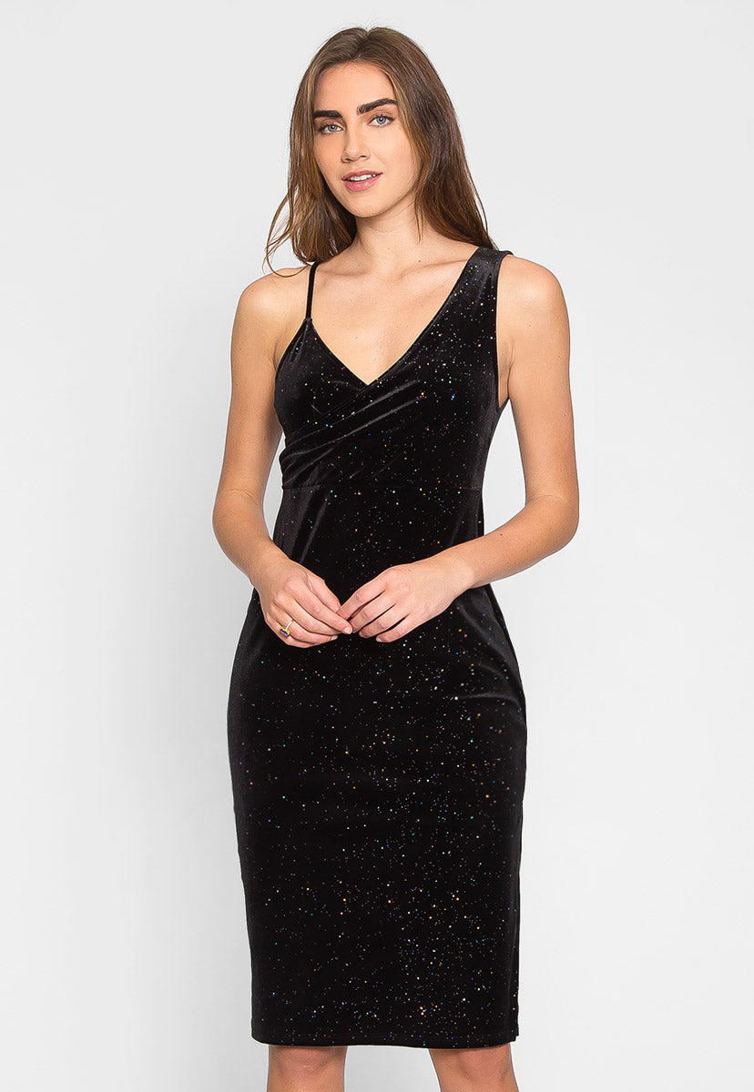 Gala Glitter Party Dress - Dresses - Wetseal