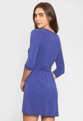 Breathtaking Knit Dress in Violet