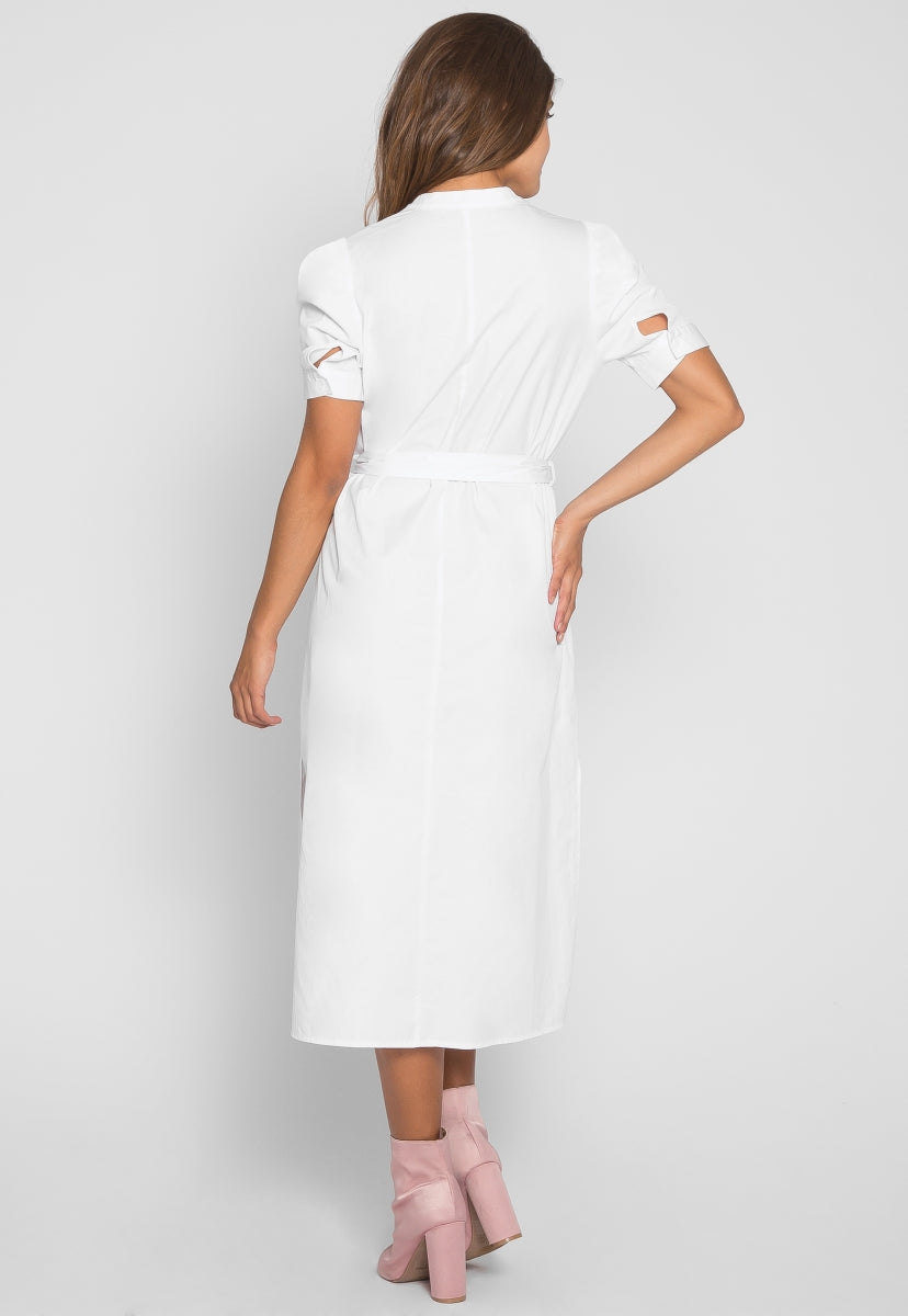 Cornwall Midi Shirt Dress - Dresses - Wetseal