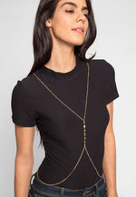 Daydreamer Body Chain in Gold