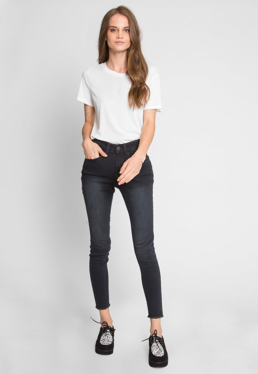 Stoked Abrasion Skinny Jeans - Pants - Wetseal