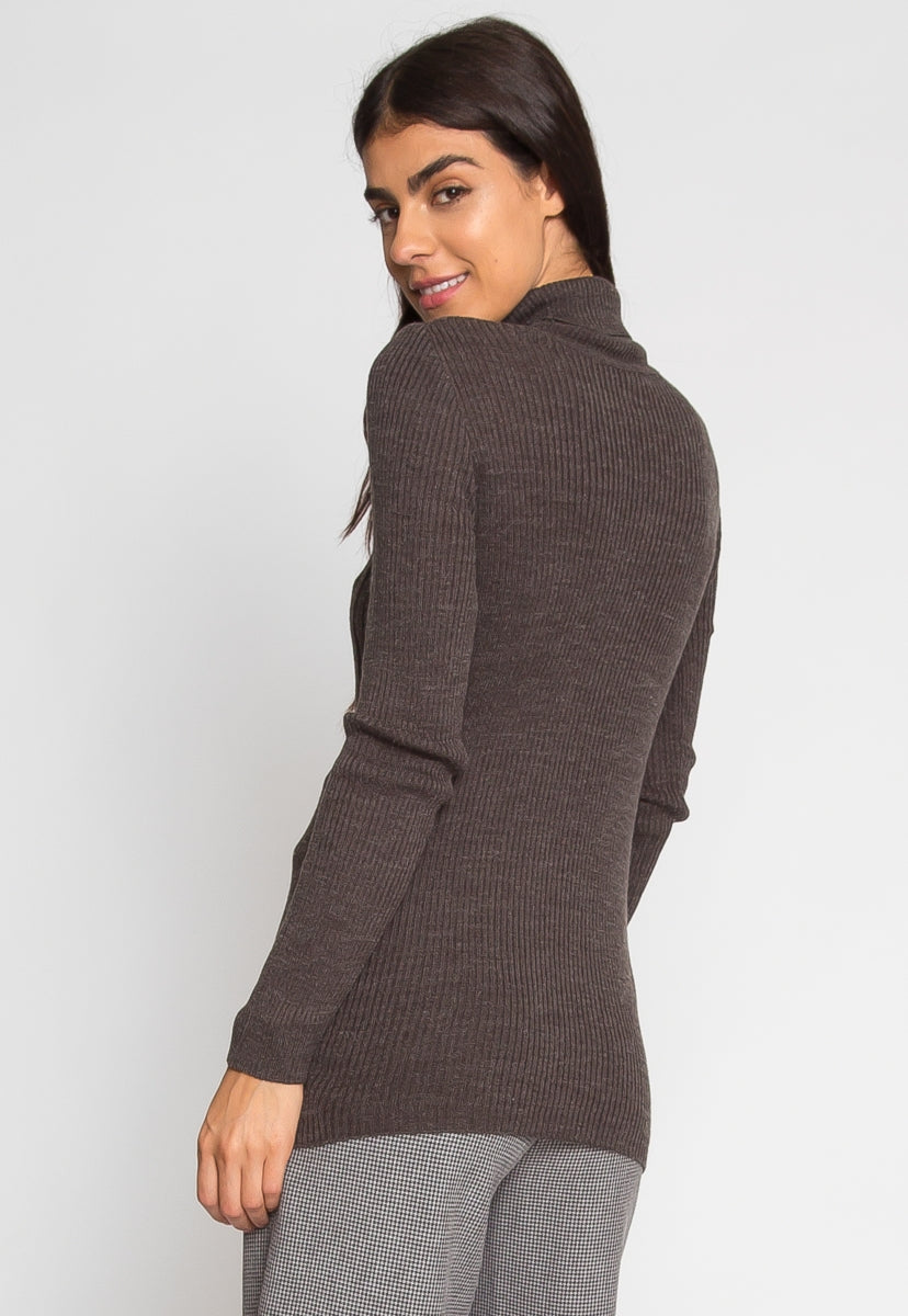 On Edge Turtleneck Sweater - Sweaters & Sweatshirts - Wetseal