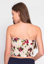 One Thing Floral Smock Tube Top