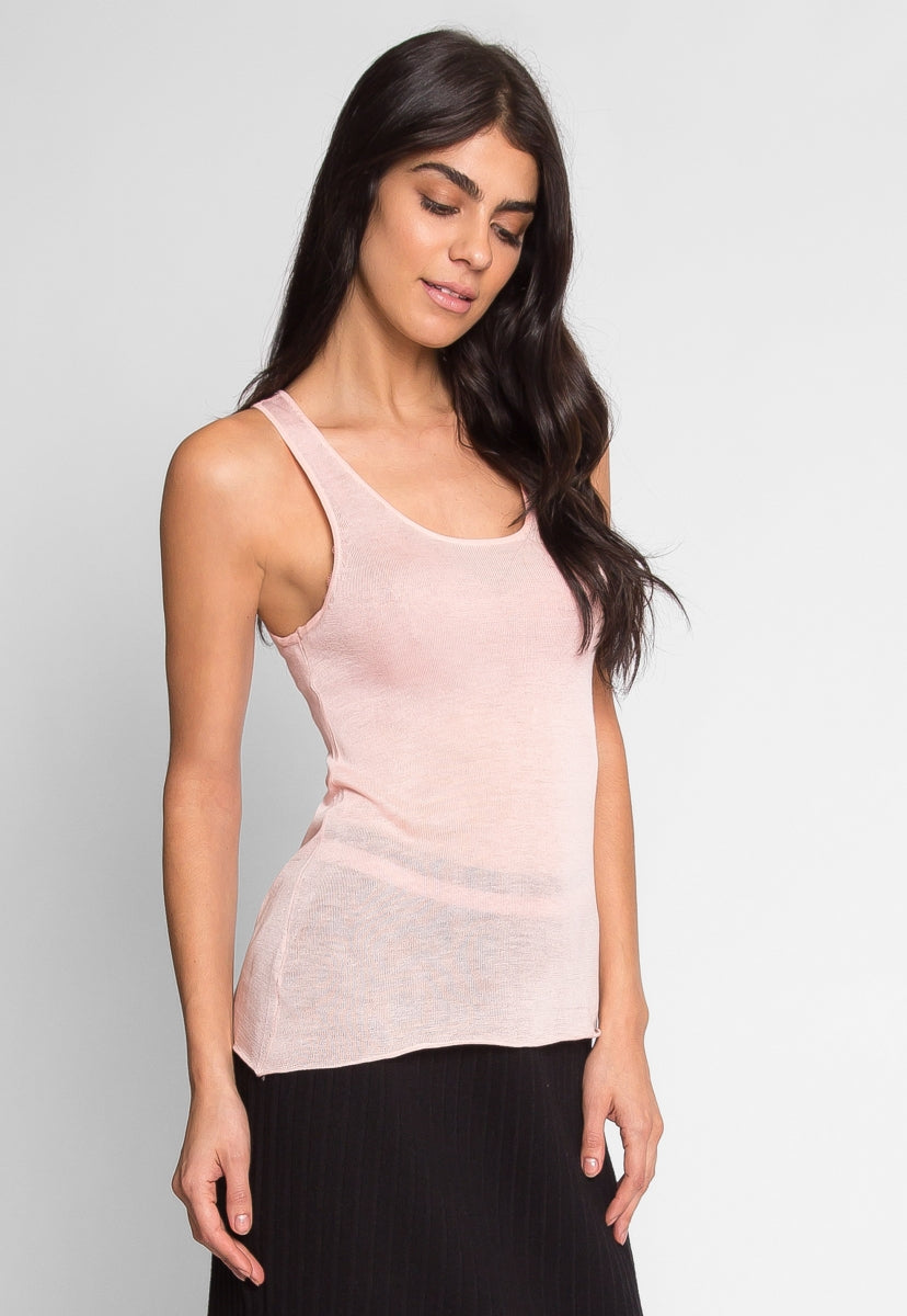 Penny Luxe Tank Top in Blush - Tanks - Wetseal