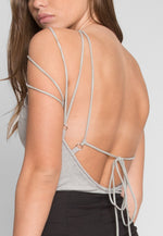 Constricted High Neck Bodysuit