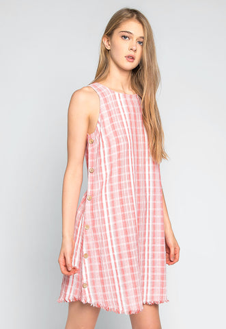 Beautiful Moment Stripe Mini Dress