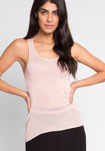 Penny Luxe Tank Top in Blush