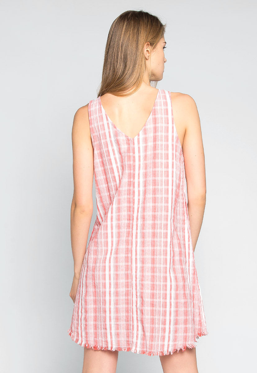 Beautiful Moment Stripe Mini Dress - Dresses - Wetseal