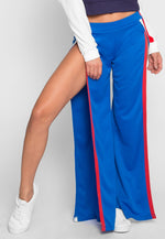 Vroom Tulip Athletic Pants in Blue