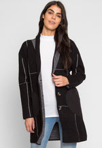 London Boyfriend Windowpane Coat