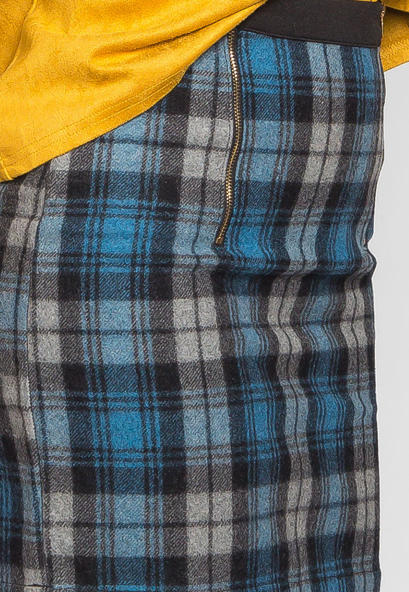 Back to College Plaid Flannel Skirt - Skirts - Wetseal
