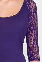 Cairo High Low Dress in Purple
