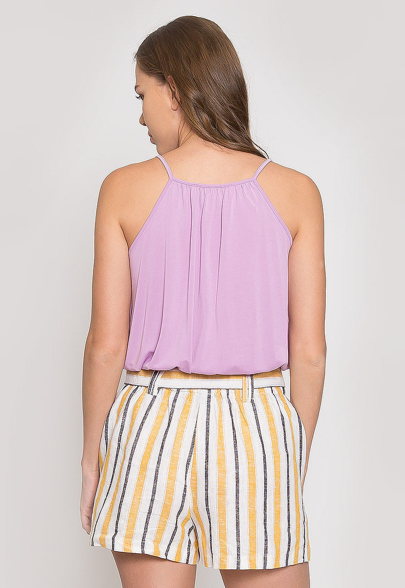 Tried and True Surplice Tank Top - Tanks - Wetseal