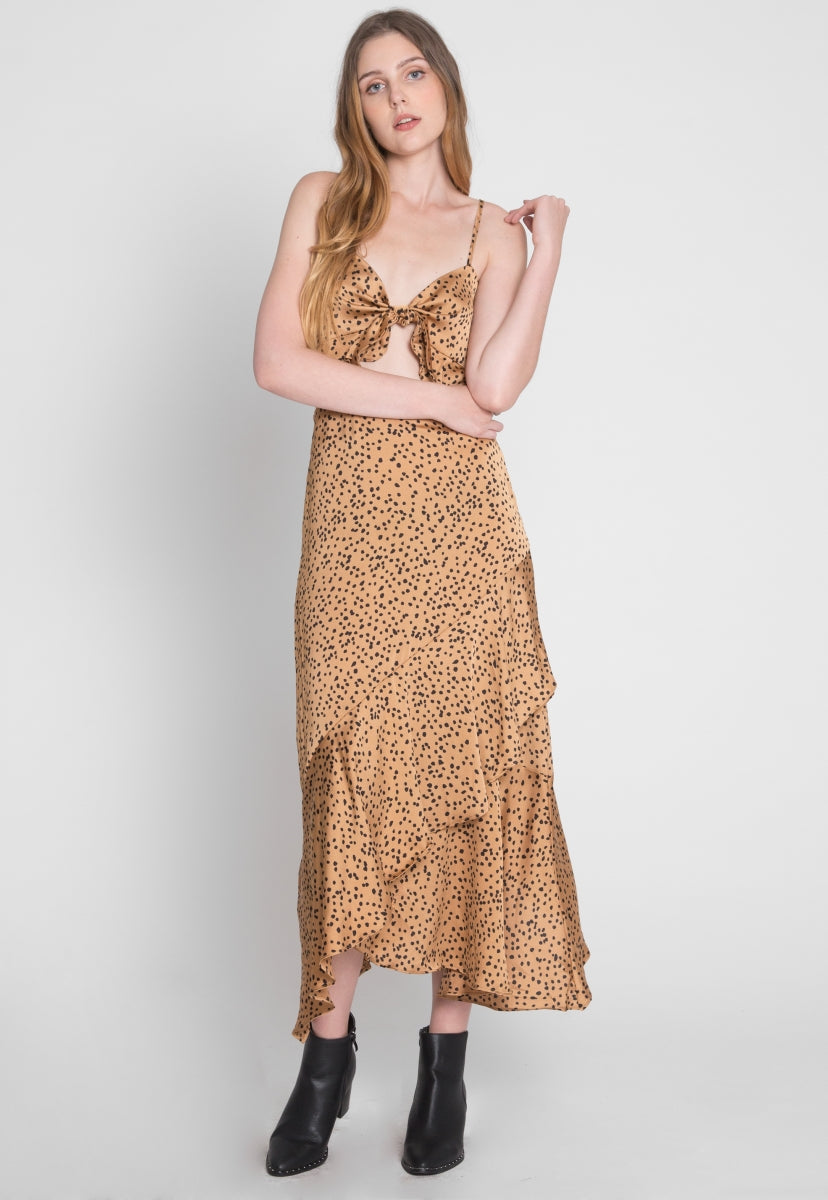 Mischief Cheetah Print Two Piece Set - Set - Wetseal
