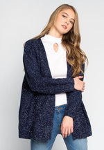 Dress You Up Tinsel Cardigan