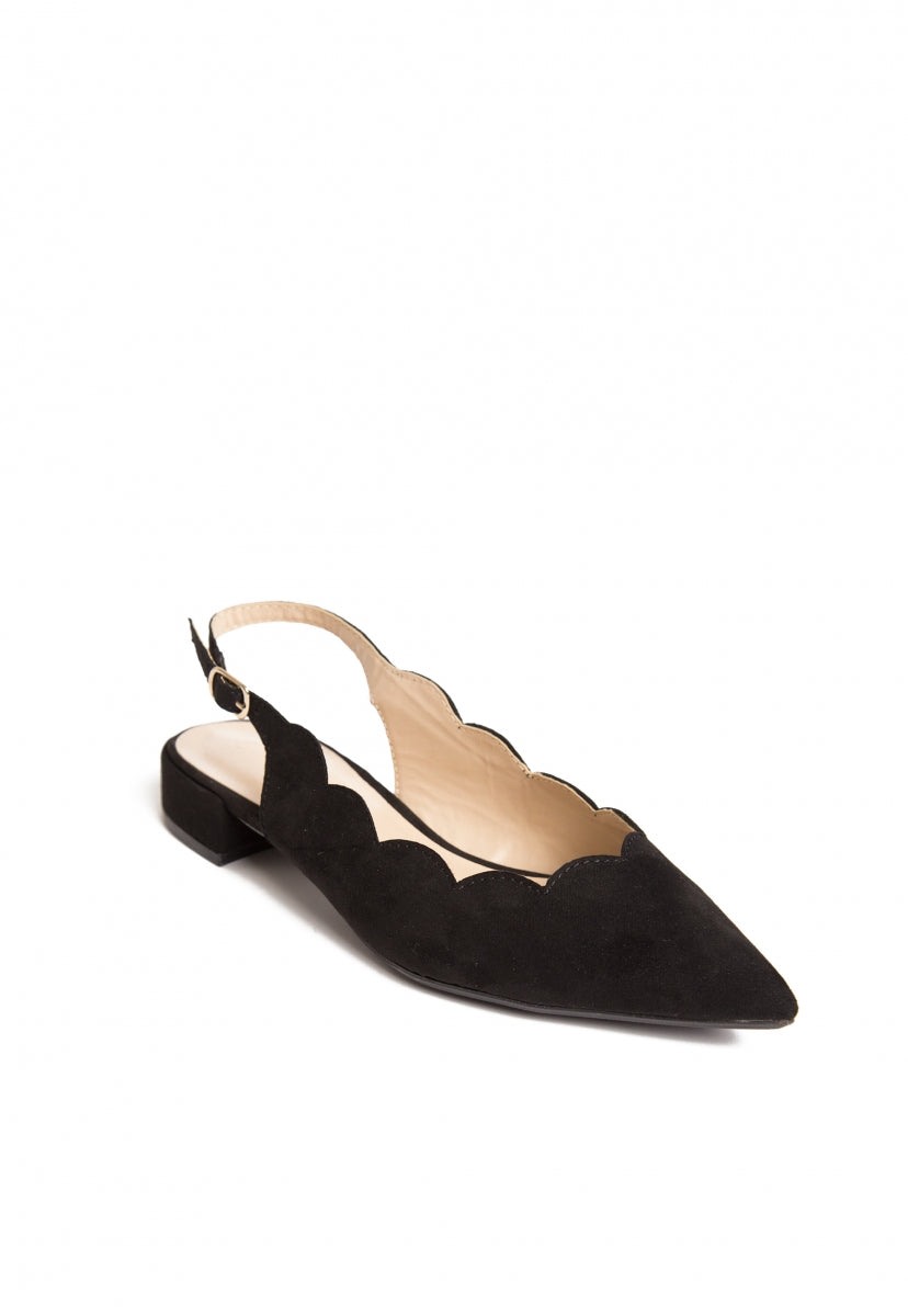 Sweetie Scallop Edge Flats - Shoes - Wetseal