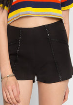 Pleasure High Waist Shorts