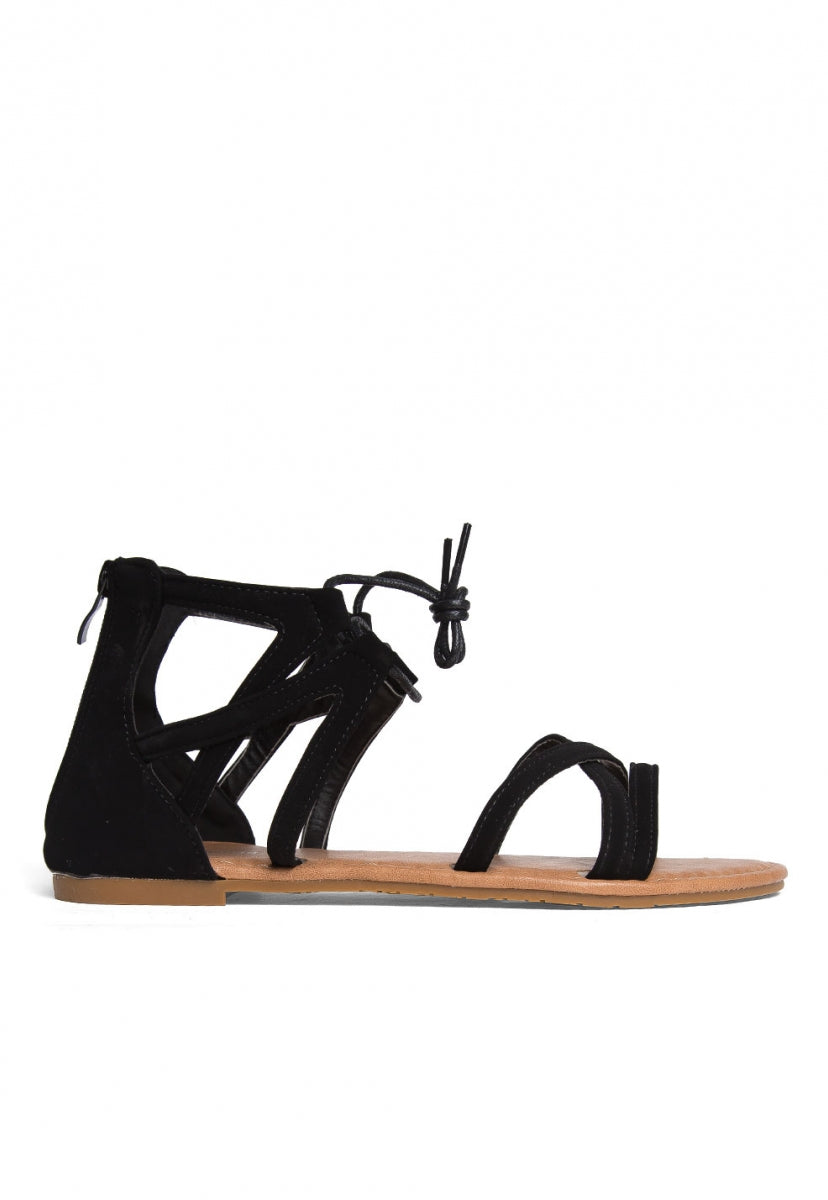 Raquel Gladiator Sandals - Shoes - Wetseal