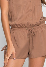 At Ease Utility Romper