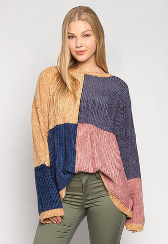 One Smart Cookie Chenille Pullover Swater
