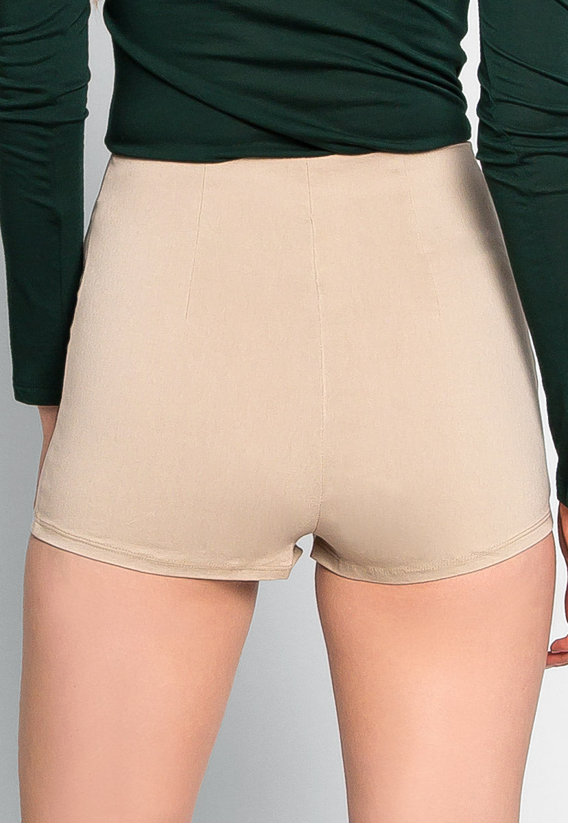 Chainlink High Waist Shorts - Short - Wetseal