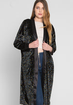 Breakfast in Bed Velvet Floral Robe