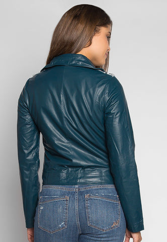 Wanderlust Faux Leather Jacket