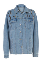 Ambitions Grommet Denim Jacket